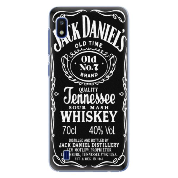 Plastové pouzdro iSaprio - Jack Daniels - Samsung Galaxy A10