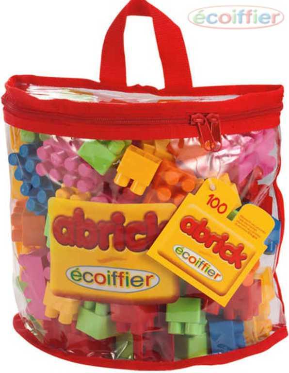 ECOIFFIER Kostky Abrick V plastové tašce 100 ks