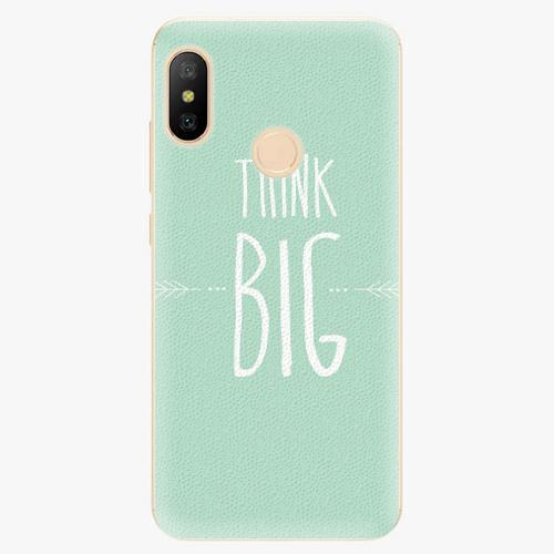 Silikonové pouzdro iSaprio - Think Big - Xiaomi Mi A2 Lite