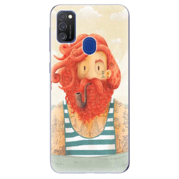 Odolné silikonové pouzdro iSaprio - Sailor - Samsung Galaxy M21