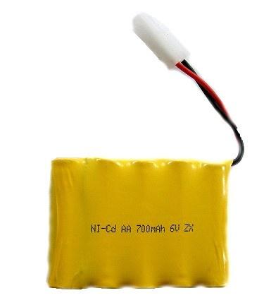 6V 700mAh NiCd - akumulátor pro Rock Crawler