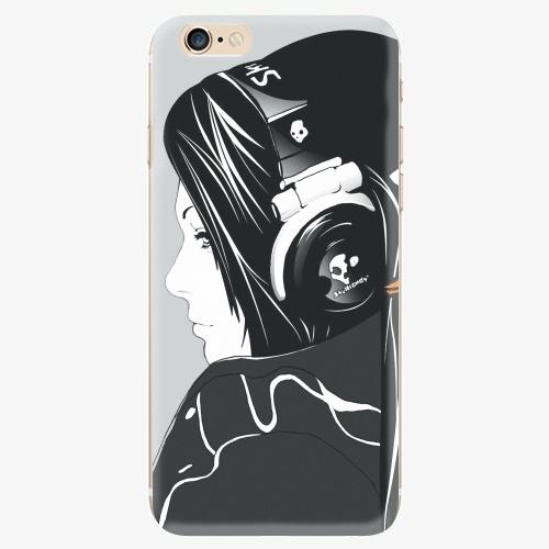 Silikonové pouzdro iSaprio - Headphones - iPhone 6/6S