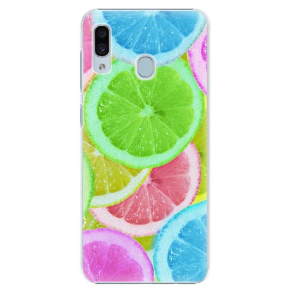 Plastové pouzdro iSaprio - Lemon 02 - Samsung Galaxy A30