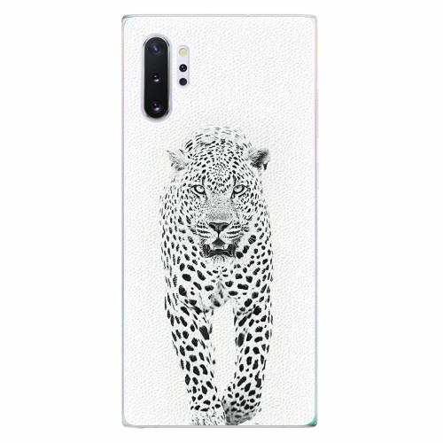 Silikonové pouzdro iSaprio - White Jaguar - Samsung Galaxy Note 10+