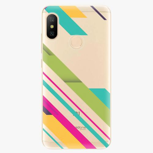 Silikonové pouzdro iSaprio - Color Stripes 03 - Xiaomi Mi A2 Lite