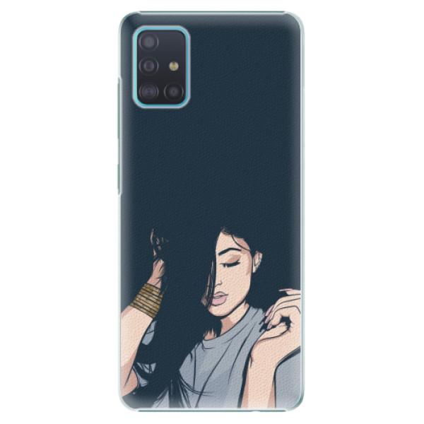 Plastové pouzdro iSaprio - Swag Girl - Samsung Galaxy A51