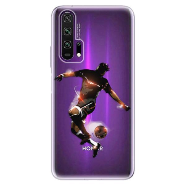 Odolné silikonové pouzdro iSaprio - Fotball 01 - Honor 20 Pro