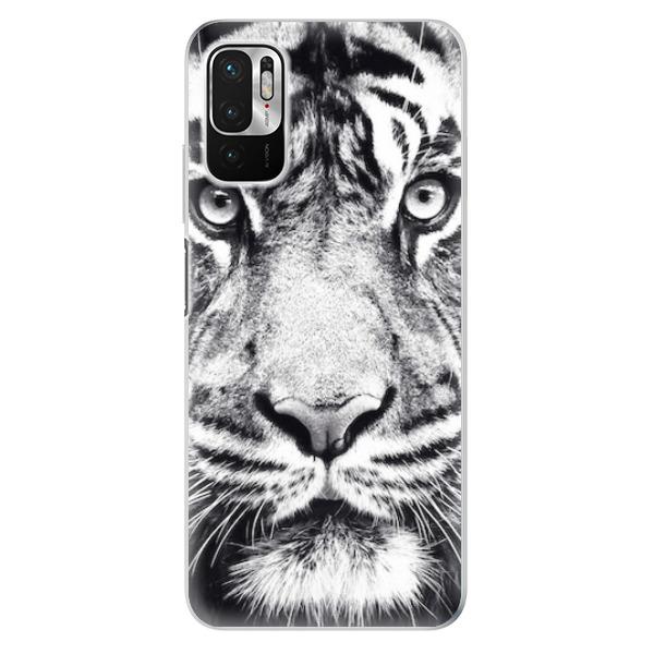 Odolné silikonové pouzdro iSaprio - Tiger Face - Xiaomi Redmi Note 10 5G