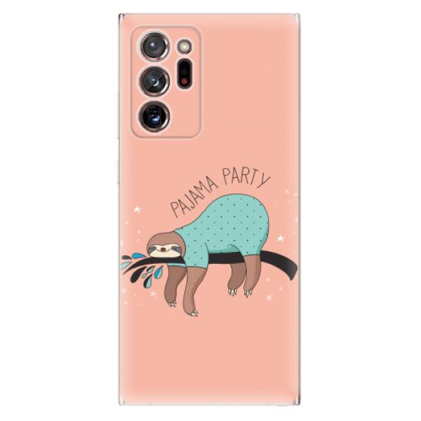 Odolné silikonové pouzdro iSaprio - Pajama Party - Samsung Galaxy Note 20 Ultra