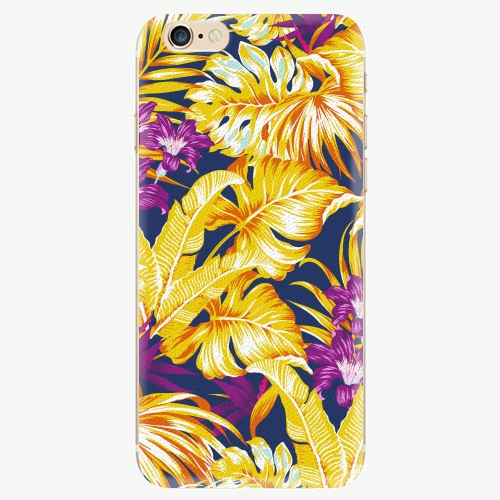 Silikonové pouzdro iSaprio - Tropical Orange 04 - iPhone 6/6S