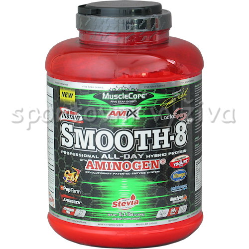 Smooth-8TM Hybrid Protein - 2300g-strawberry-yogurt