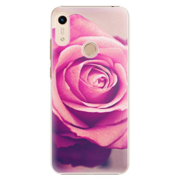 Plastové pouzdro iSaprio - Pink Rose - Huawei Honor 8A