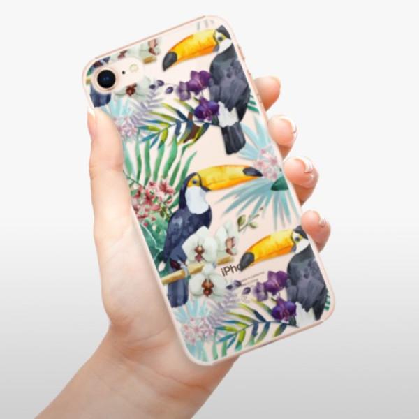 Plastové pouzdro iSaprio - Tucan Pattern 01 - iPhone 8