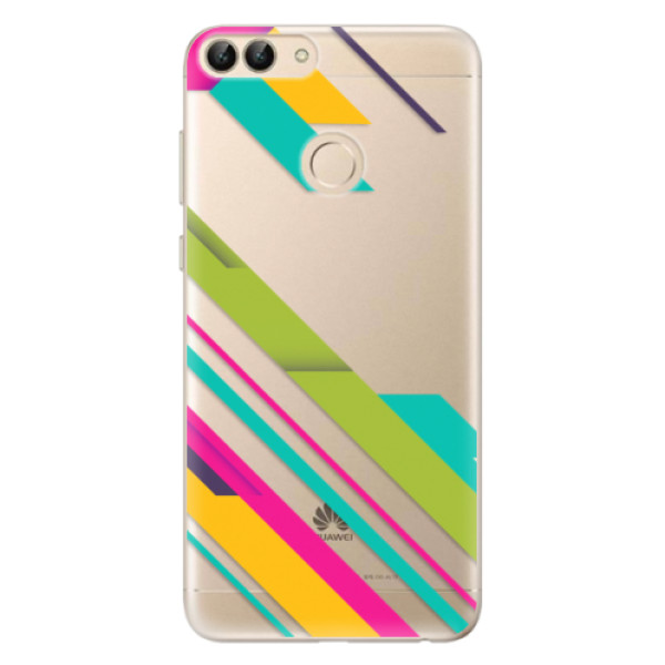 Odolné silikonové pouzdro iSaprio - Color Stripes 03 - Huawei P Smart