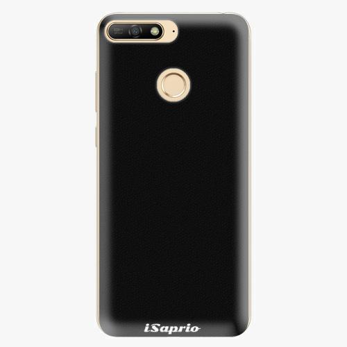 Silikonové pouzdro iSaprio - 4Pure - černý - Huawei Y6 Prime 2018