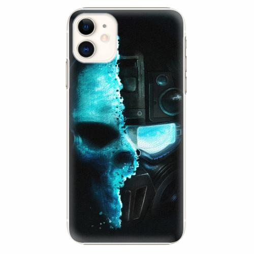 Plastový kryt iSaprio - Roboskull - iPhone 11