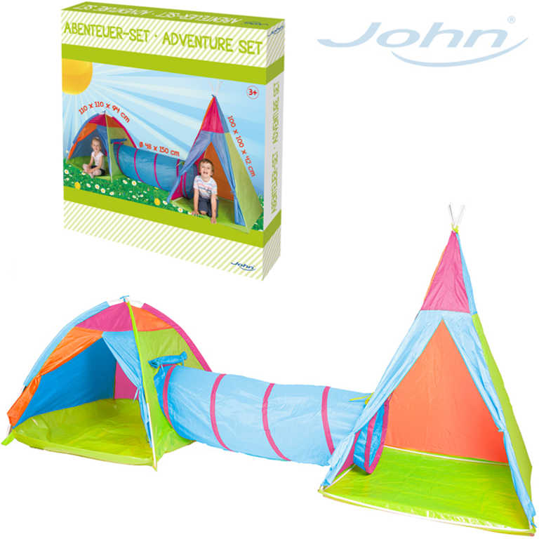 JOHN Set 2 stany + dětské prolézadlo