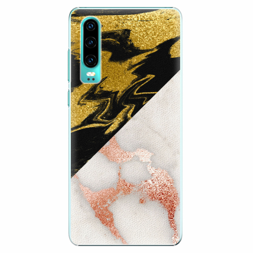 Plastový kryt iSaprio - Shining Marble - Huawei P30