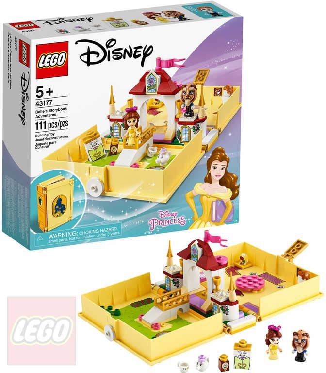 LEGO PRINCESS Bella a její pohádková kniha dobrodružství 43177 STAVEBNICE
