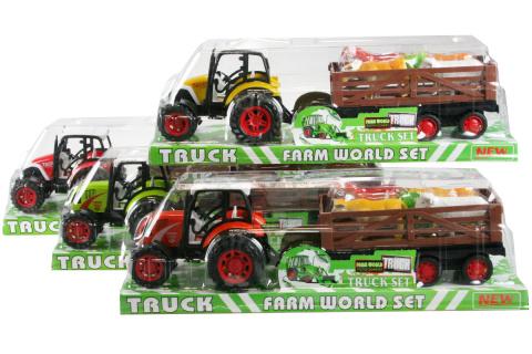 Traktor se zvířátky