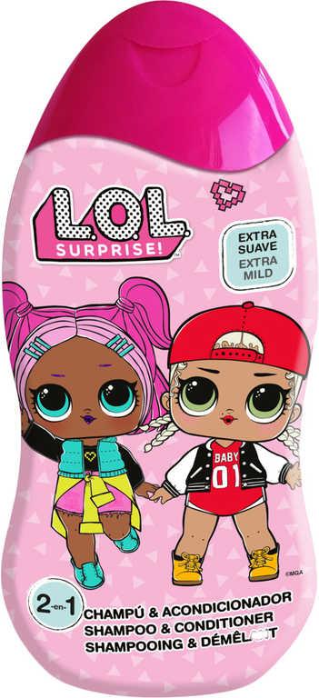 EP Line L.O.L. Surprise! Šampón a kondicionér 400ml 2v1 dětská kosmetika
