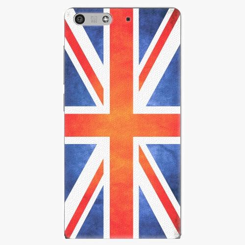 Plastový kryt iSaprio - UK Flag - Huawei Ascend P7 Mini