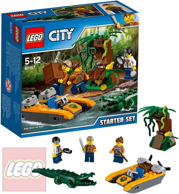 LEGO CITY Džungle startovací sada 60157 STAVEBNICE