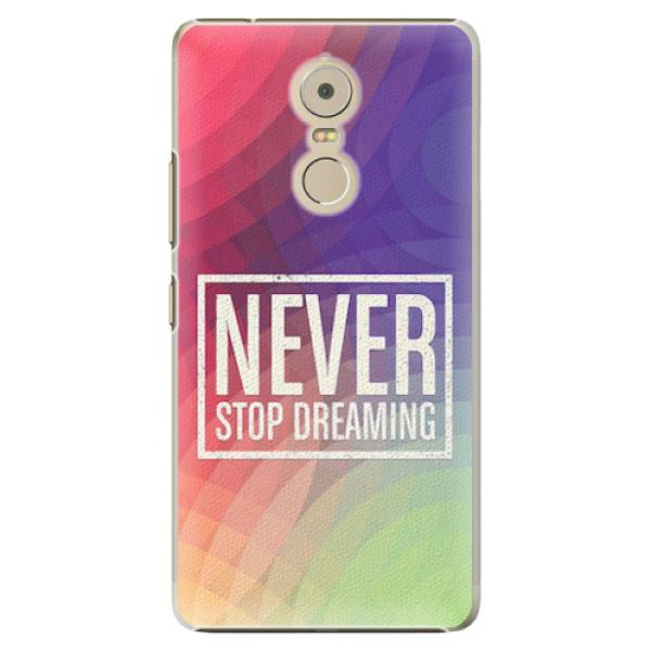 Plastové pouzdro iSaprio - Dreaming - Lenovo K6 Note