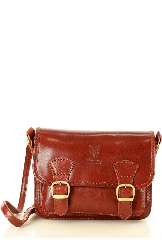 Přírodní kožená taška model 136549 Mazzini - UNI velikost