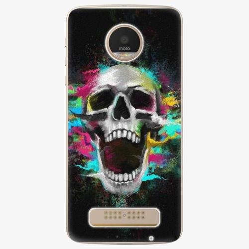 Plastový kryt iSaprio - Skull in Colors - Lenovo Moto Z Play