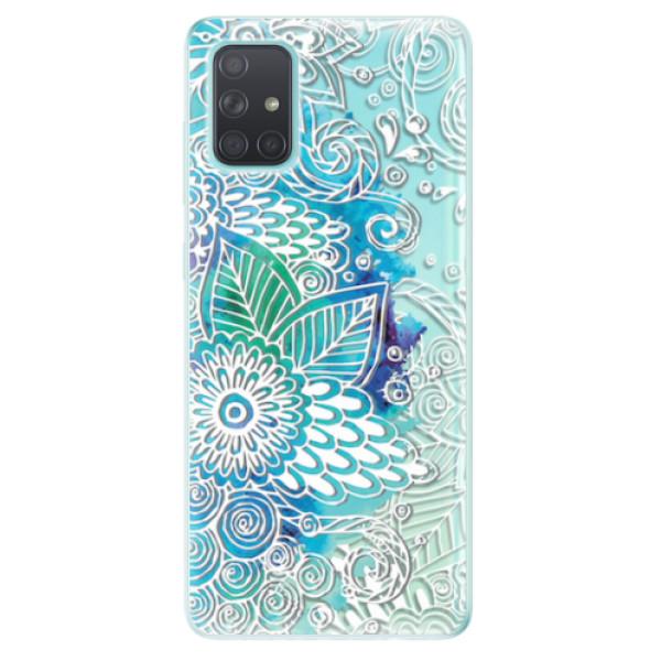 Odolné silikonové pouzdro iSaprio - Lace 03 - Samsung Galaxy A71