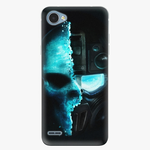 Plastový kryt iSaprio - Roboskull - LG Q6