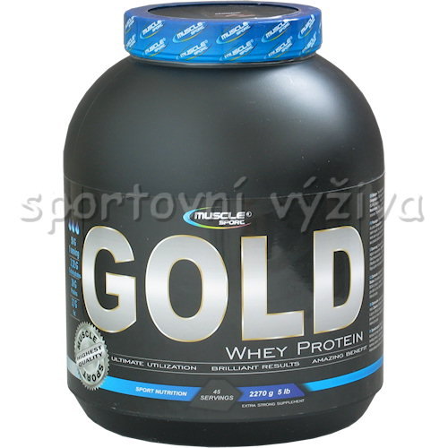 Whey protein Gold - 2270g-banan