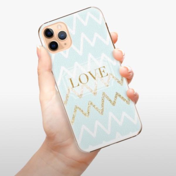Plastové pouzdro iSaprio - GoldLove - iPhone 11 Pro Max