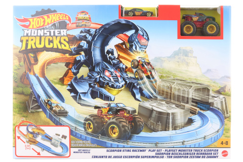 Hot Wheels Monster trucks škorpion herní set GNB05