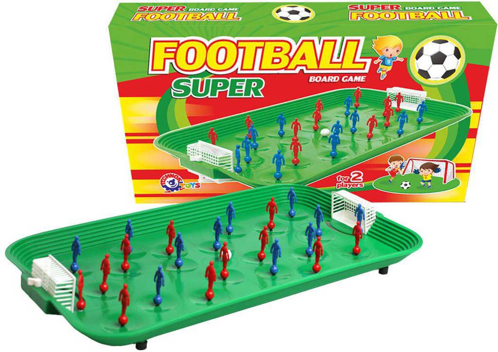 Hra Fotbal stolní kopaná 52x31x8cm plast *SPOLEČENSKÉ HRY*