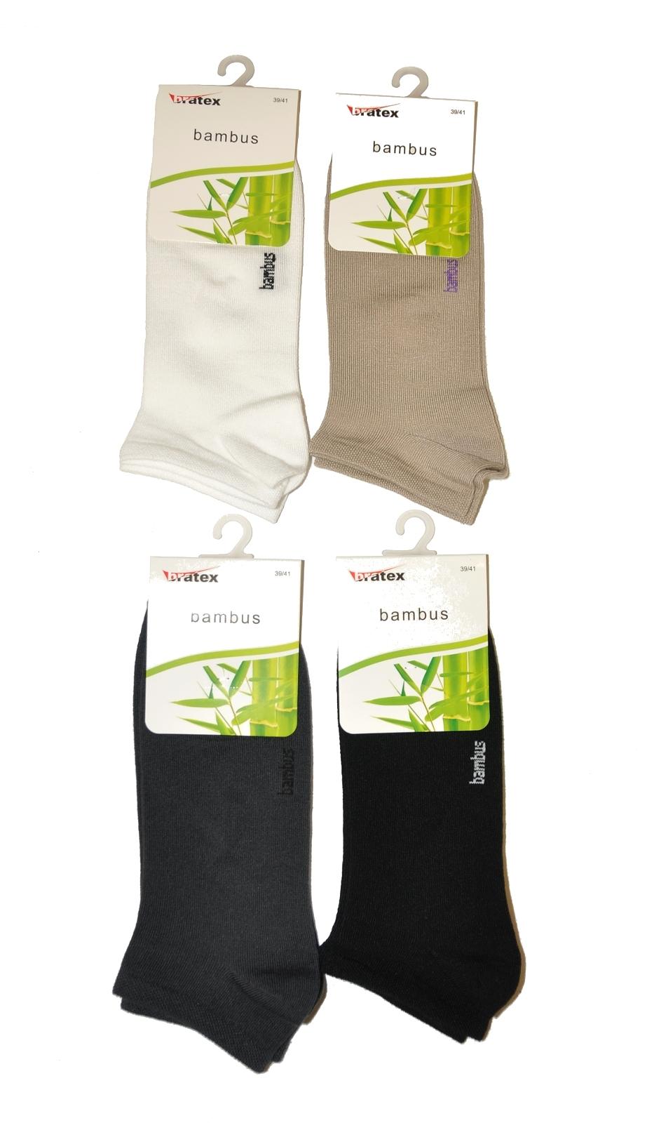 Pánské kotníkové ponožky Bratex Bambus 013/117