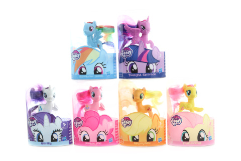 MLP My little pony mane pony asst