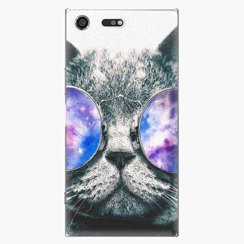 Plastový kryt iSaprio - Galaxy Cat - Sony Xperia XZ Premium