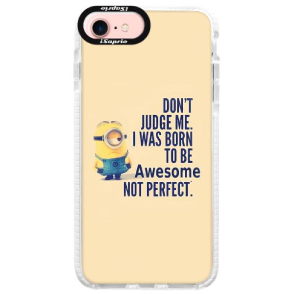 Silikonové pouzdro Bumper iSaprio - Be Awesome - iPhone 7