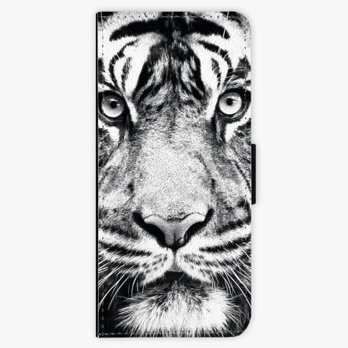 Flipové pouzdro iSaprio - Tiger Face - Samsung Galaxy J3