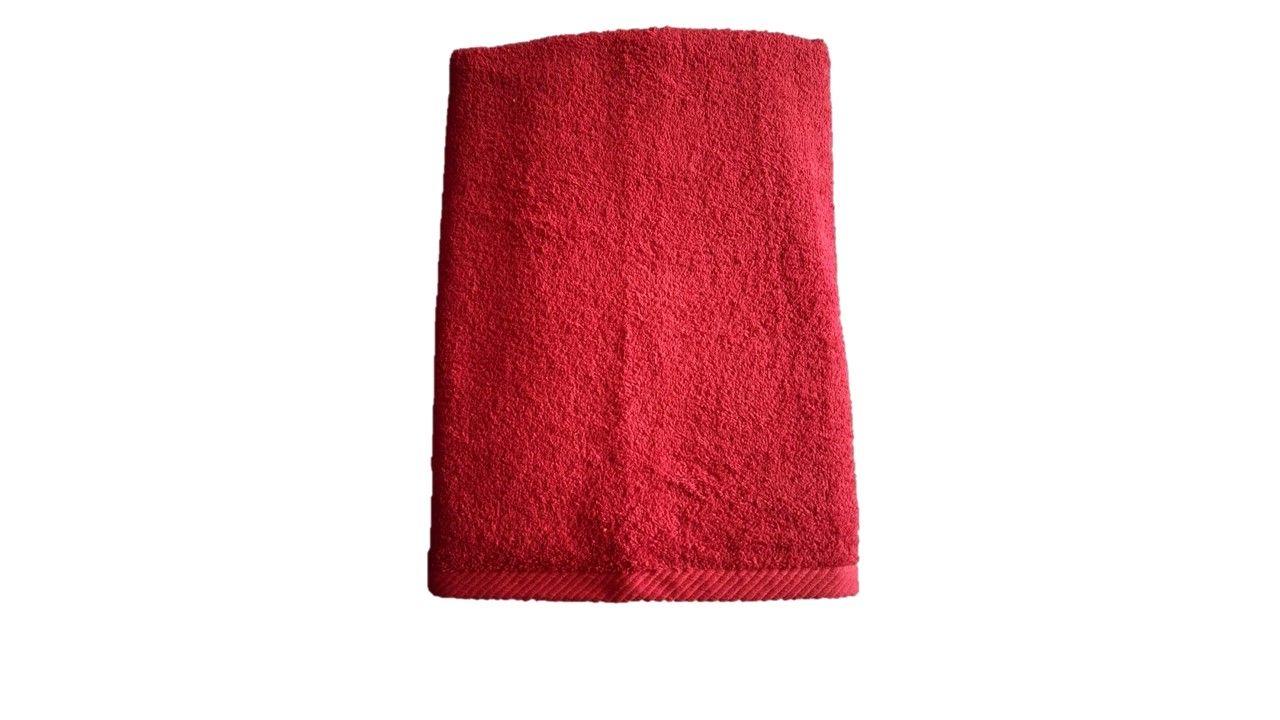 Osuška Unica - 70x140, červená