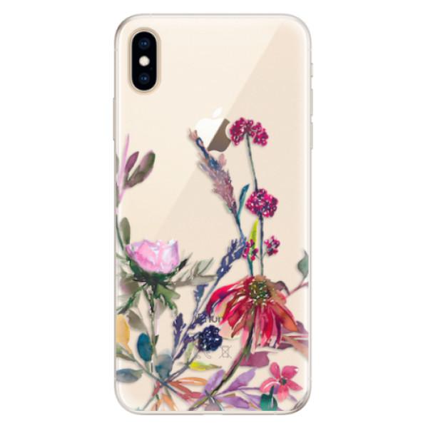 Silikonové pouzdro iSaprio - Herbs 02 - iPhone XS Max