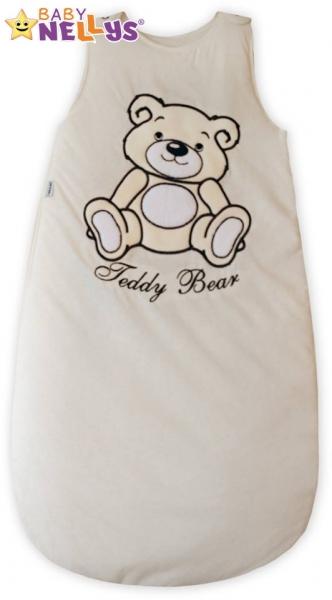 spaci-vak-teddy-bear-baby-nellys-smetanovy-ecru-vel-0