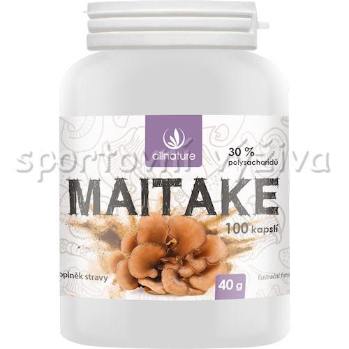 Allnature Maitake 100 kapslí