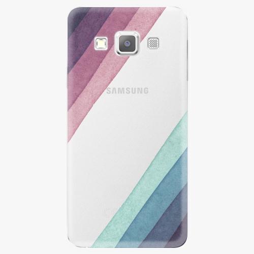 Plastový kryt iSaprio - Glitter Stripes 01 - Samsung Galaxy A3