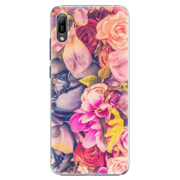Plastové pouzdro iSaprio - Beauty Flowers - Huawei Y6 2019