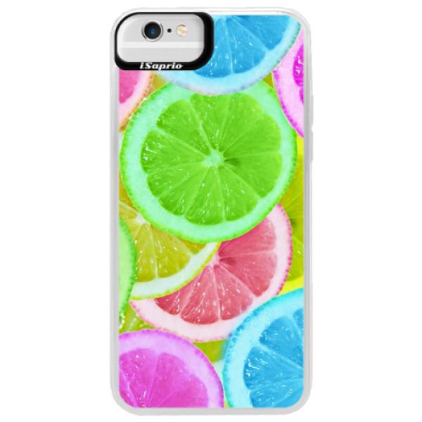 Neonové pouzdro Blue iSaprio - Lemon 02 - iPhone 6 Plus/6S Plus
