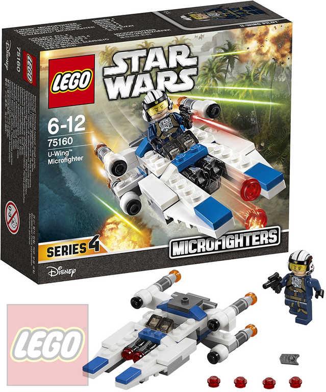 LEGO STAR WARS Mikrostíhačka U-Wing 75160 STAVEBNICE