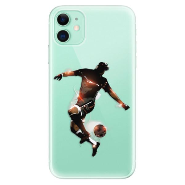Odolné silikonové pouzdro iSaprio - Fotball 01 - iPhone 11